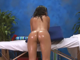 Lovely brown babe opens wide for a big washed out weasel words