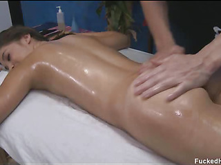 These 3 girls fucked lasting wide of their rub-down therapist after acquiring a suave rubdown